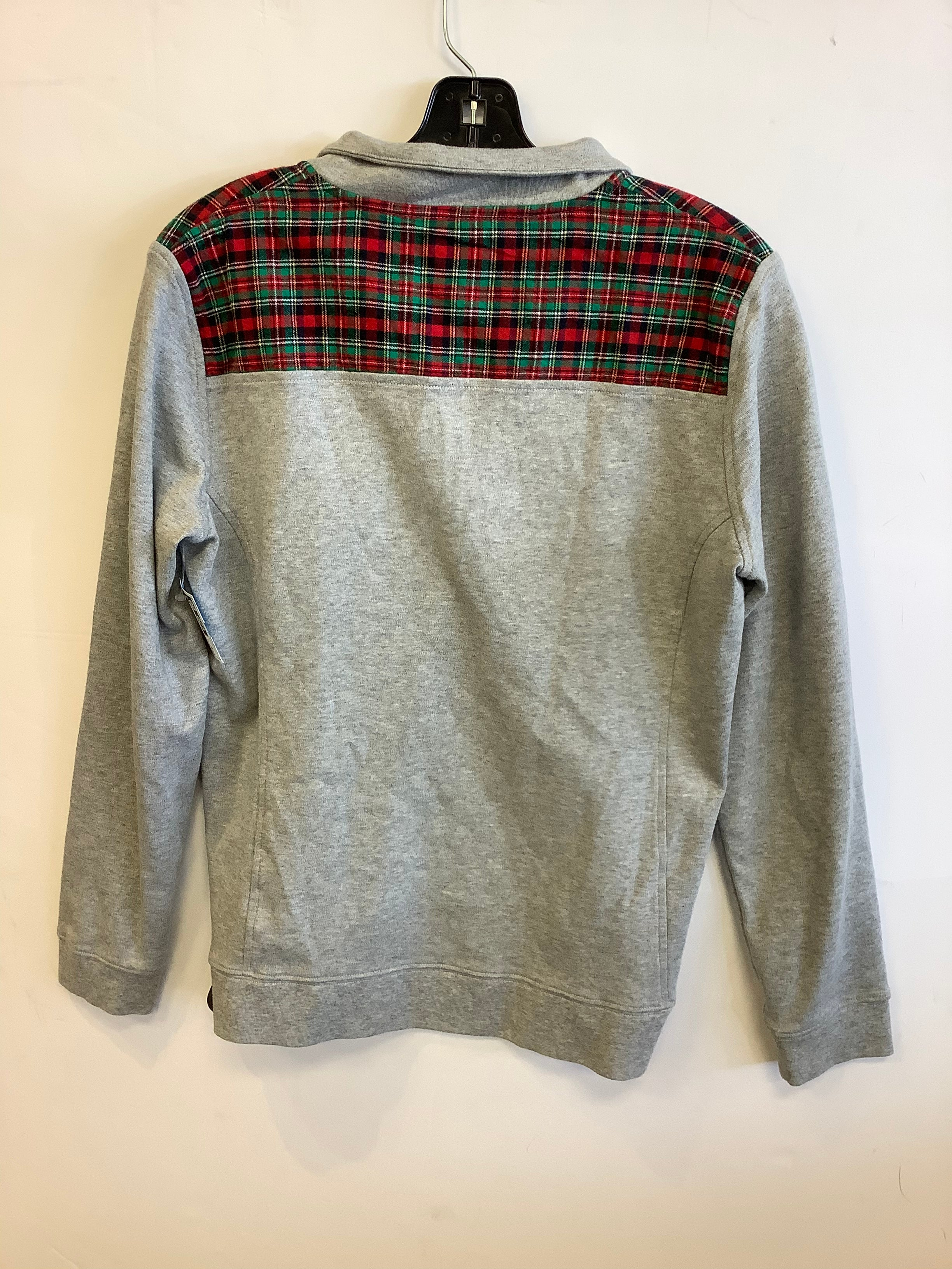 Photo #2 - BRAND: VINEYARD VINES <BR>STYLE: SWEATER LIGHTWEIGHT <BR>COLOR: GREY <BR>SIZE: M <BR>SKU: 298-29814-72959