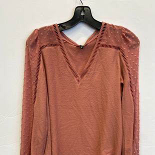 Primary Photo - BRAND: EXPRESS STYLE: TOP LONG SLEEVE COLOR: CORAL SIZE: XS SKU: 298-29811-53834