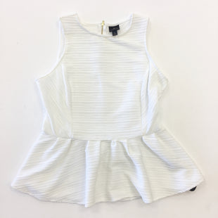 Primary Photo - BRAND: WORTHINGTON STYLE: TOP SLEEVELESS COLOR: WHITE SIZE: L SKU: 298-29858-3244
