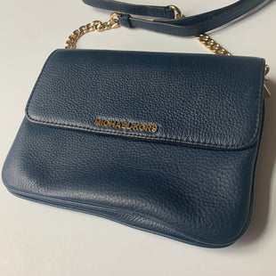 Primary Photo - BRAND: MICHAEL KORS STYLE: HANDBAG DESIGNER COLOR: NAVY SIZE: SMALL SKU: 298-29814-74780