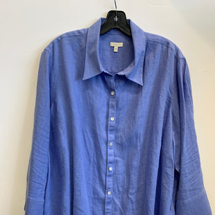 Primary Photo - BRAND: TALBOTS STYLE: TOP LONG SLEEVE COLOR: LIGHT BLUE SIZE: 2X SKU: 298-29862-583