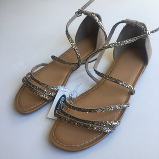 Primary Photo - BRAND: OLD NAVY STYLE: SANDALS FLAT COLOR: SPARKLES SIZE: 7 SKU: 298-29813-34544