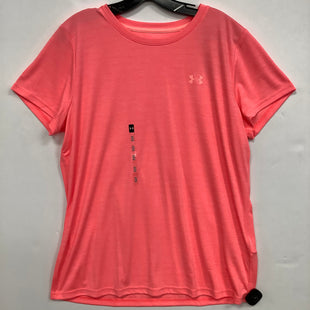 Primary Photo - BRAND: UNDER ARMOUR STYLE: ATHLETIC TOP COLOR: CORAL SIZE: XL SKU: 298-29859-4587