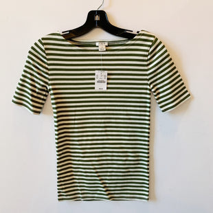 Primary Photo - BRAND: J CREW O STYLE: TOP SHORT SLEEVE BASIC COLOR: GREEN SIZE: XXS SKU: 298-29813-34700