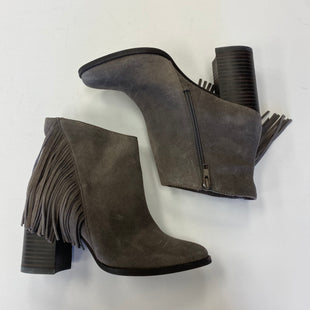 Primary Photo - BRAND: ARTURO CHIANG STYLE: BOOTS ANKLE COLOR: GREY SIZE: 8.5 SKU: 298-29814-70583