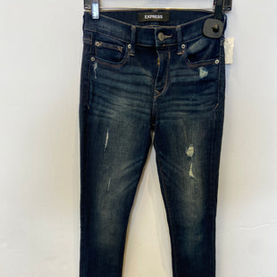 Primary Photo - BRAND: EXPRESS O STYLE: JEANS COLOR: DENIM SIZE: 0 SKU: 298-29811-53954