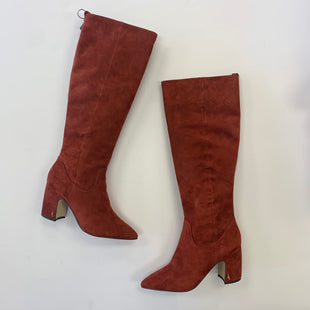 Primary Photo - BRAND: SAM EDELMAN STYLE: BOOTS KNEE COLOR: RUST SIZE: 10 SKU: 298-29814-71918