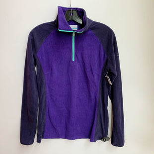 Primary Photo - BRAND: COLUMBIA STYLE: ATHLETIC JACKET COLOR: PURPLE SIZE: M SKU: 298-29811-50848