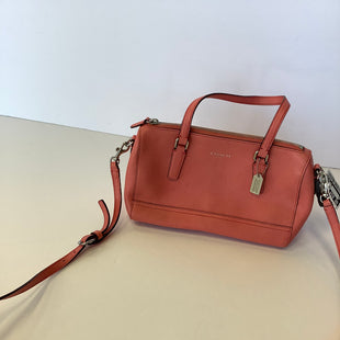 Primary Photo - BRAND: COACH STYLE: HANDBAG COLOR: CORAL SIZE: MEDIUM SKU: 298-29811-53917