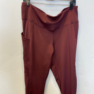 Primary Photo - BRAND: NEW BALANCE STYLE: ATHLETIC PANTS COLOR: MAROON SIZE: XL SKU: 298-29811-53870