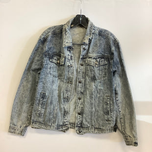 Primary Photo - BRAND:    CLOTHES MENTOR STYLE: JACKET OUTDOOR COLOR: DENIM SIZE: M OTHER INFO: FIORE - SKU: 298-29814-72064