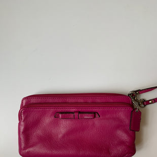 Primary Photo - BRAND: COACH STYLE: WRISTLET COLOR: PINK SKU: 298-29811-53118