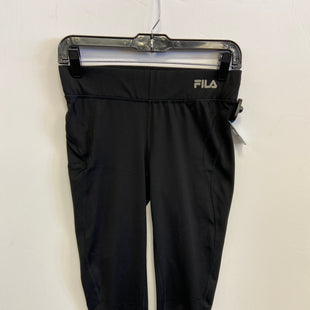 Primary Photo - BRAND: FILA STYLE: ATHLETIC CAPRIS COLOR: BLACK SIZE: XS SKU: 298-29859-5606