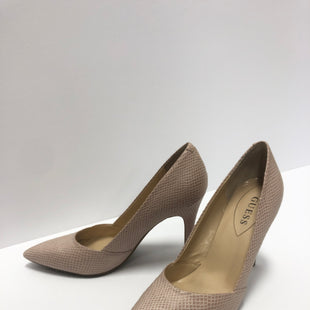 Primary Photo - BRAND: GUESS STYLE: SHOES HIGH HEEL COLOR: NUDE SIZE: 10 SKU: 298-29857-2612
