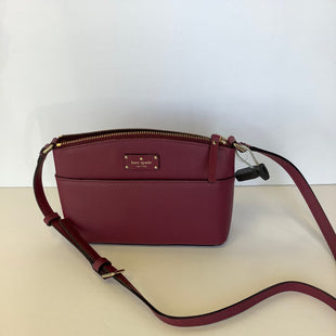 Primary Photo - BRAND: KATE SPADE STYLE: HANDBAG COLOR: MAROON SIZE: SMALL SKU: 298-29811-53915