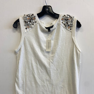 Primary Photo - BRAND: BANANA REPUBLIC STYLE: TOP SLEEVELESS COLOR: WHITE SIZE: XS SKU: 298-29835-23521