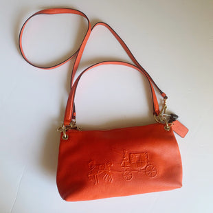 Primary Photo - BRAND: COACH STYLE: HANDBAG DESIGNER COLOR: ORANGE SIZE: MEDIUM SKU: 298-29864-93