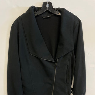 Primary Photo - BRAND: HALSTON STYLE: JACKET OUTDOOR COLOR: BLACK SIZE: L SKU: 298-29814-72451