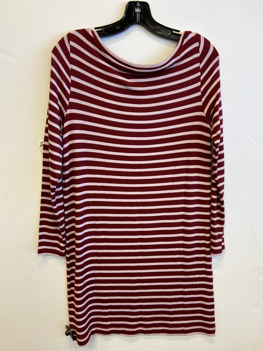 Photo #1 - BRAND: LOU AND GREY <BR>STYLE: DRESS SHORT LONG SLEEVE <BR>COLOR: STRIPED <BR>SIZE: S <BR>SKU: 298-29814-73033