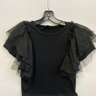 Primary Photo - BRAND:    CLOTHES MENTOR STYLE: TOP SHORT SLEEVE COLOR: BLACK SIZE: S OTHER INFO: ONTWELFTH - SKU: 298-29813-35768