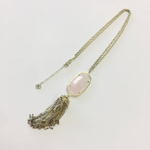 Primary Photo - BRAND: KENDRA SCOTT JEWLERY STYLE: NECKLACE COLOR: PINK OTHER INFO: RAYNE WITH TASSEL SKU: 298-29862-730