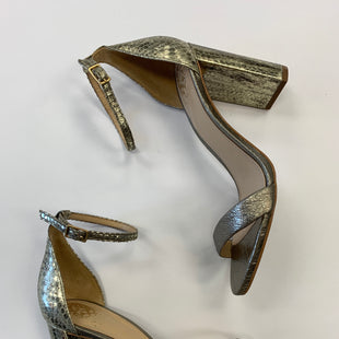 Primary Photo - BRAND: VINCE CAMUTO STYLE: SHOES HIGH HEEL COLOR: METALLIC SIZE: 8.5 SKU: 298-29859-287