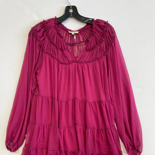 Primary Photo - BRAND: ENTRO STYLE: DRESS SHORT LONG SLEEVE COLOR: PURPLE SIZE: S SKU: 298-29835-22279