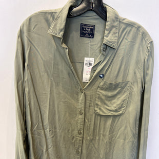 Primary Photo - BRAND: ABERCROMBIE AND FITCH STYLE: TOP LONG SLEEVE COLOR: GREEN SIZE: XS SKU: 298-29865-1124