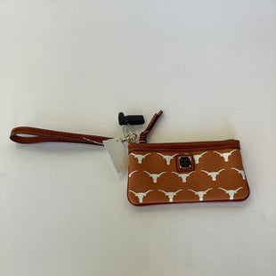 Primary Photo - BRAND: DOONEY AND BOURKE STYLE: WRISTLET COLOR: ORANGE OTHER INFO: LONGHORNS SKU: 298-29811-53905