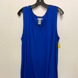 Primary Photo - BRAND: CATHERINES STYLE: TOP SLEEVELESS COLOR: BLUE SIZE: 1X SKU: 298-29835-20359