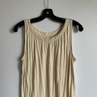 Primary Photo - BRAND: LOFT STYLE: TOP SLEEVELESS COLOR: CREAM SIZE: M SKU: 298-29865-1026