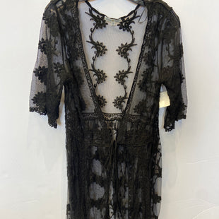 Primary Photo - BRAND:    CLOTHES MENTOR STYLE: COVERUP COLOR: BLACK SIZE: M OTHER INFO: WOVEN HEART - SKU: 298-29859-6170