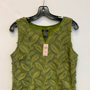 Primary Photo - BRAND: ANN TAYLOR STYLE: TOP SLEEVELESS COLOR: GREEN SIZE: M SKU: 298-29862-671