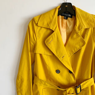 Primary Photo - BRAND: FOREVER 21 STYLE: JACKET OUTDOOR COLOR: YELLOW SIZE: S SKU: 298-29814-71519