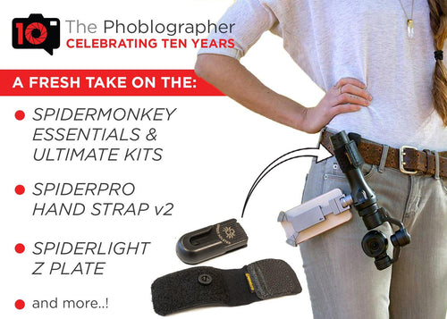 ThePhoblographer - A fresh batch of new Spider Holster products! - Spider Camera Holster