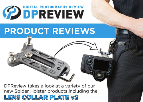 DPReview :: Whats new at Spider Holster? - Spider Camera Holster