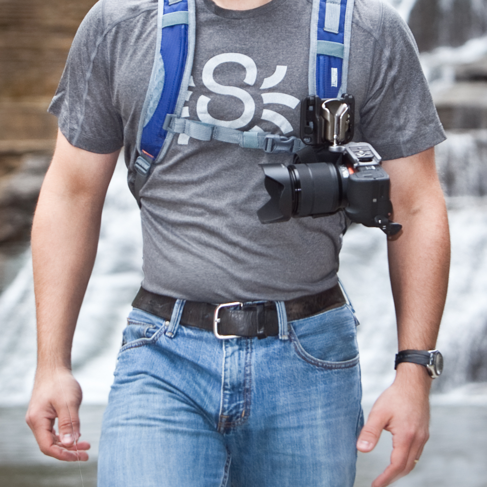 SpiderLight Backpacker Kit - Spider Camera Holster