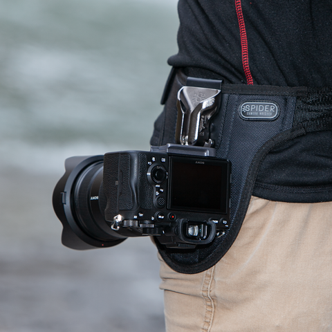 SpiderPro Single Mirrorless Camera System v2 - Spider Camera Holster