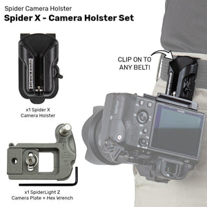 Spider X Holster Set
