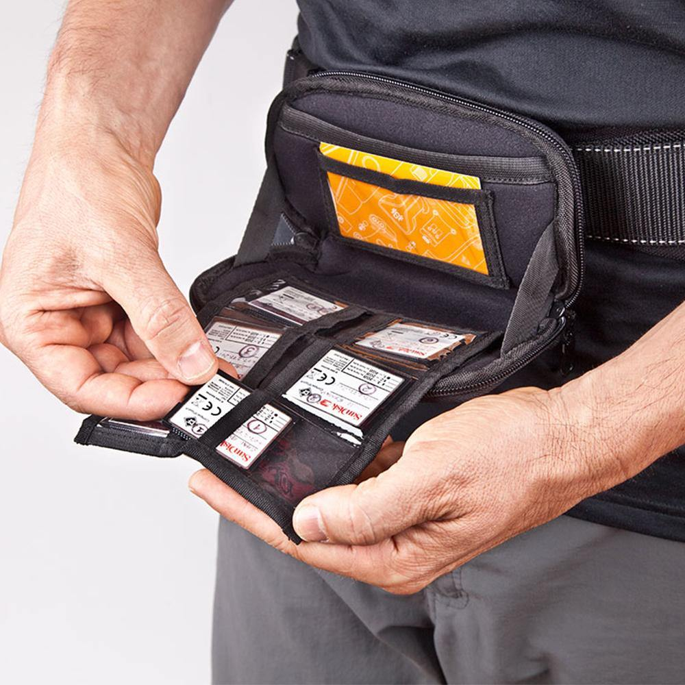 Memory Card Organizer v2 - Spider Camera Holster