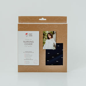 Baby on the Move - Nursing Cover (Deep Blue)