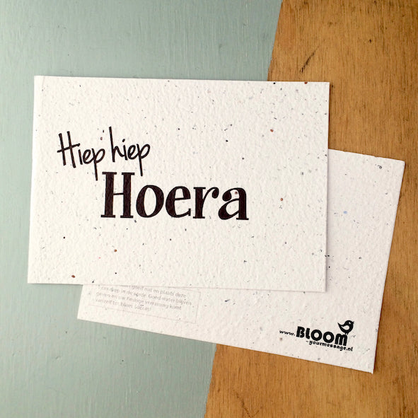 BLOOM Your Message - Hiep hiep hoera