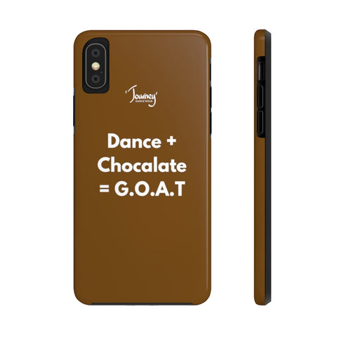I dance, I eat, I sleep Case Mate Tough Phone Cases