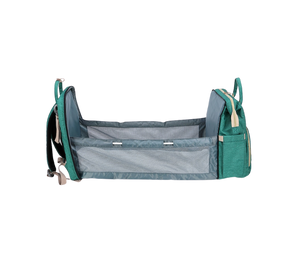 BabyLu- Diaper Bag With Portable Changing Bed