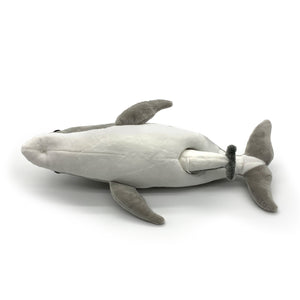 "Dolphin Discovery: ""Mummy"" and Baby ""Dart"" Dolphin Plush Toys (2 connected pieces)"