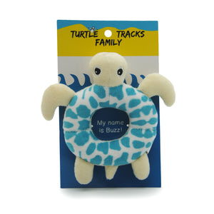 "Happy Hatchlings: ""Buzz"" Turtle Baby Rattle"