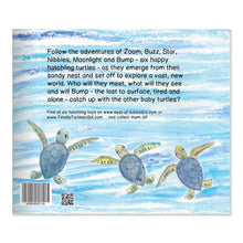 Load image into Gallery viewer, Happy Hatchlings: Storybook & Six Hatchling Turtle Plush Toys in a Nest (8 pieces) in Gift Box