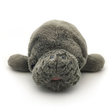 "Load image into Gallery viewer, Manatee Magic: ""Hugh"" Manatee Plush Toy"