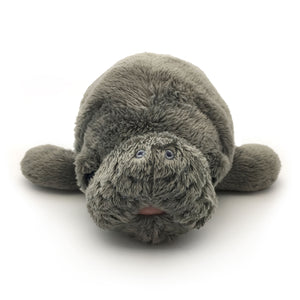 "Manatee Magic: ""Hugh"" Manatee Plush Toy"