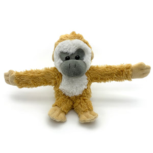 "Monkey Mischief: ""Hug"" Monkey Huggable Plush Toy"